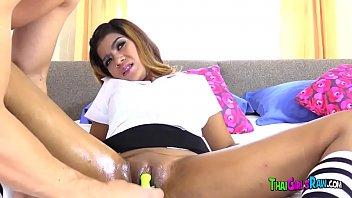 Sexy Thai Babe Enjoys Hardcore Sex