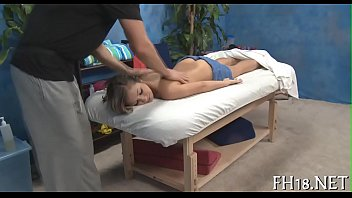 Teen massage movie scene