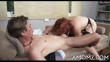 Mama gets pussy ready for fuck