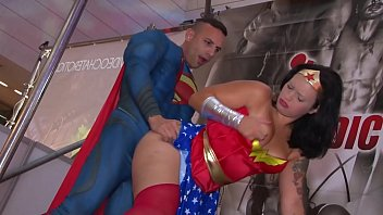 Superman sex parody Superman vs wonderwoman jose adiction