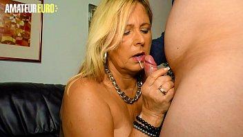 AMATEUR EURO - Classy Gilf Mom Kiki R. Knows To Take Care Of Her Precious Hubby