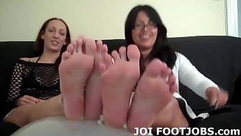 I want to rub my feet up and down your big hard cock