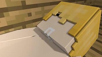 Minecraft lesbienne porno salle de bain sexe Cartoon
