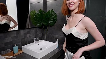 Birthday girl get fuck by crown - Busty redhead from england, lenina crowne fucks and gets a facial