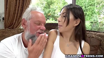Teen slut Anya Krey loves getting fucked by her favorite sugar daddy Albert and she likes older cock that pounds her like no young man can.