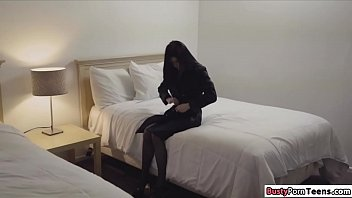 Petite babe getting fucked by a stranger