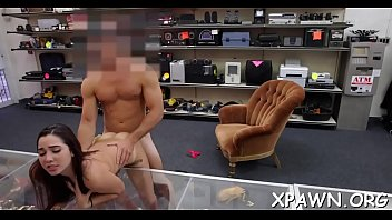 Free sex videos in a store Dilettante does a blow job in the store and this babe humps