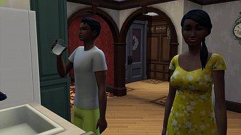Ebony Mom And Black Son thumbnail