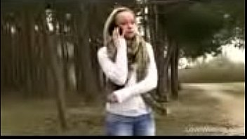 Bursting To Pee At A Park, Pretty Girl Can't Skip An Wetting Accident