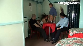 Waitress fucked in the toilet like a bitch!