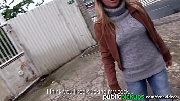 Mofos - Hot Euro blonde gets picked up on the street