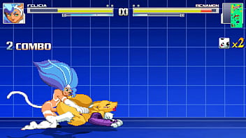 Pictures of hentai digimon Darkstalkers felicia fucks renamon