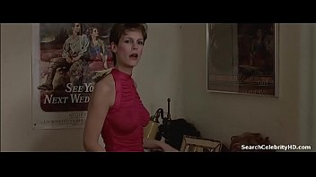 Jamie Lee Curtis in Trading Places 1984
