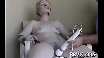 Slut load bondage - Juvenile babe enjoys being torned and strapped for the camera