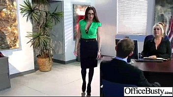 Sex In Office Class With Big Juggs Worker Girl video-06