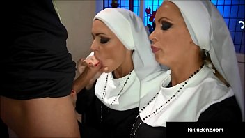 Penthouse Pet Nikki Benz & Jessica Jaymes Banged As Nuns! preview image