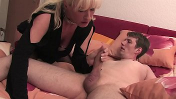 Free Version - Mom lets her mature son enjoy fucking him with his hand