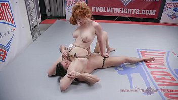 Mixed wrestling busty - Lauren phillips anal fucking after mixed nude wrestling fight