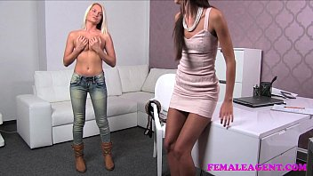 Female sexual enhancement finallly - Femaleagent incredible blonde strikes a sexual deal with insatiable agent
