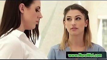Pyramid Team (Angela White & Kristen Scott) movie clip-01