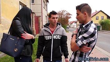 Bisexual dude cums on ho