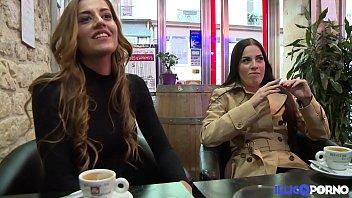 Les soeurs jumelles Dellai se tapent un gros veinard [쌍둥이 twins]