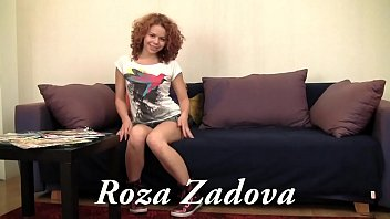 Zadova with her ginger hair enjoys her body and rel virgin p