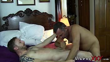 Ass cock gay rimm Rimmed young gay bareback before facial cumshot