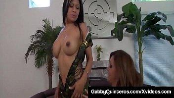 Mexi Milf Gabby Quinteros & Francesca Le Eat Pussy & Cream!