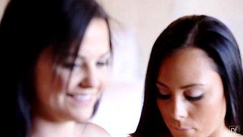 Horny babes Gianna Nicole and Brooklyn Daniels Share a Cock - EroticVideosHD.com