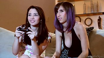 Eva Sedona and April O'Neil Lesbian Fun