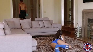 Adorable and booty teen Karissa Kane gets Pussy loaded with Cum