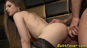 Buttfucked euro babe blows cock ass to mouth
