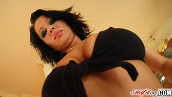Milf Thing MILF Threesome for cock loving mature chick Andrea Black Thumb