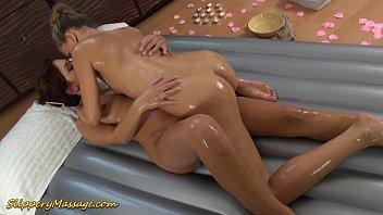real lesbian slippery nuru massage sex thumbnail