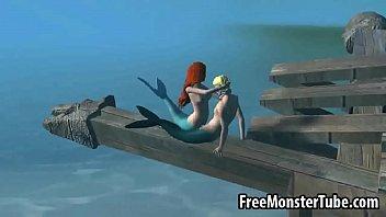 3D Little Mermaid babe Ariel gets fucked hard3-high 2 Vorschaubild