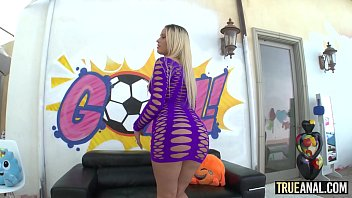 TRUE ANAL Blonde teen Layla Love first time anal