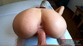 Blonde Literally Fucked By Big Cock! Point of View! AliceMargo.com