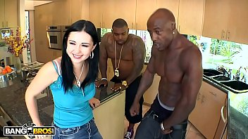 BANGBROS – Curvy PAWG Angell Summers Interracial DP With Rico Strong & Wesley Pipes
