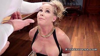 Julia simone bondage - Threesome anal bondage fucking
