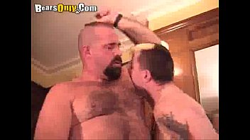 Hairy gay bears tube Fiery big bear worshipping