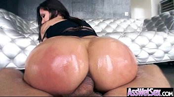 Big Oiled Butt Girl (aleksa nicole) Get Hard Nailed In Her Behind clip-03