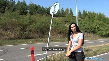 Public Agent Firm assed hottie loved getting fucked outdoors thumbnail