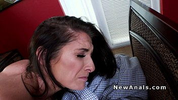 First milfs Milf cheater takes it in the ass for the first time