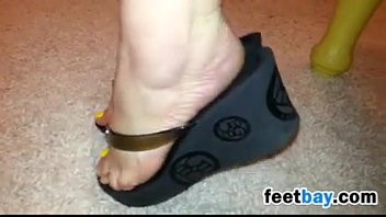 Mature Russian Feet Teasing Softcore