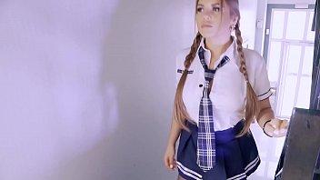 LETSDOEIT – #Megan Inky – Romanian MILF Teacher DP At School With BBC And The Principal