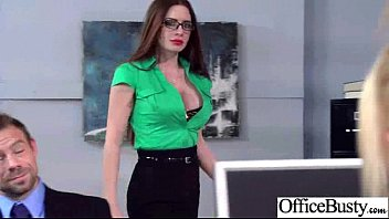 Horny Girl (veronica vain) With Big Juggs Hard Banged In Office mov-30