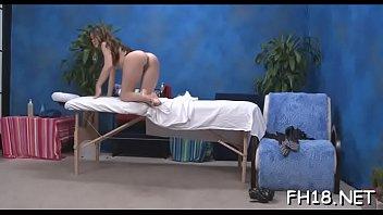 Hawt 18 year old brunette slut gets screwed hard by her massage therapist! tumblr xxx video