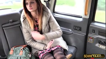 Romanian sexy babe gets fucked in the ass in the backseat