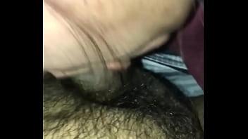 Native wife sucking my cock